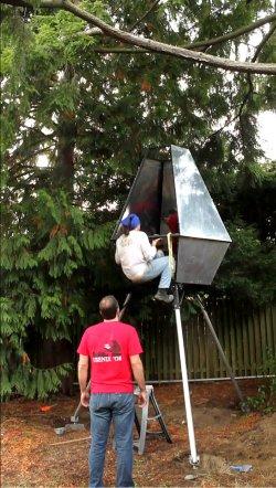 Ravenna Ultra-Low-Altitude Rocket     Treehouse